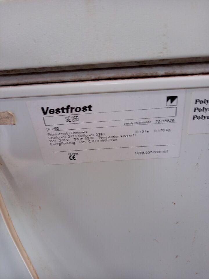 Kummefryser, Vestfrost, 225 liter