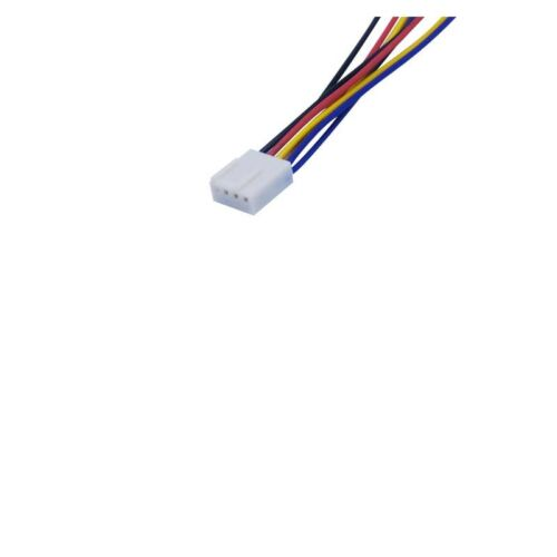 20cm PC Motherboard Fan Cooling 4 Pin to 2x 4pin PWM Extension Cable New