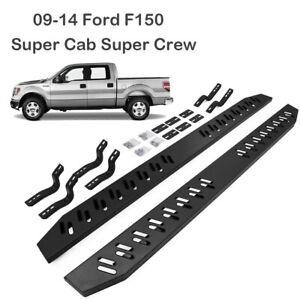 "For 09-14 Ford F150 Regular Cab 6/"" Running Board Side Step Nerf Bar S//S V"