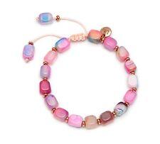 Lola Rose SS17 Elladora Beaded Bracelet in Candy Floss Montana Agate