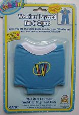 x LAYERED TEE CAPRIS fits most WEBKINZ cat dog pet CLOTHING new CODE online