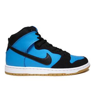 Nike DUNK HIGH PRO SB Blue Hero Black Gum Light Brn 305050-470 (306) Men's Shoes