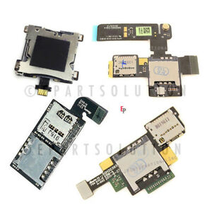 HTC-One-M7-801e-Vivid-PH39100-ONE-V-Amaze-4G-SIM-Tray-SIM-Card-Tray-Cable