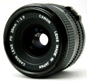 Canon-New-FD-28mm-1-2-8-Lens-As-Is-CQ18a
