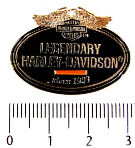 MOTORRAD Pin HARLEY DAVIDSON LEGENDARY since 1903 Pins