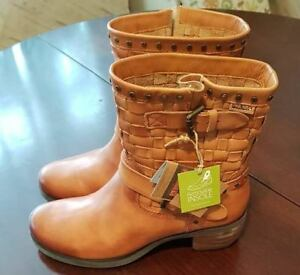 Pikolinos Leather Tan With Ladies Box New Boots Brand axqtTpwar