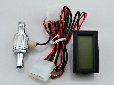 Digital led Thermometer Temperature Meter -20~70℃ for PC Computer Water Cooling