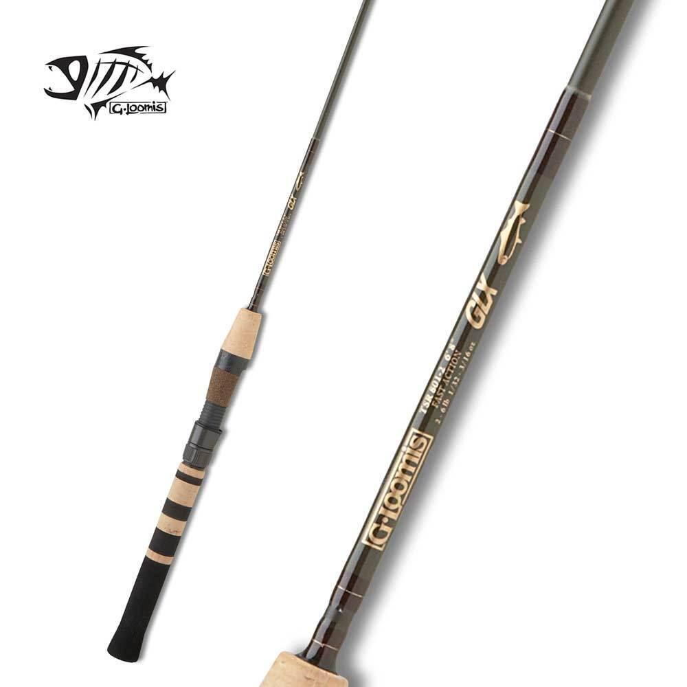 G LOOMIS Trucha serie GLX Spinning Rod TSR801-2 GLX 6' 8  Luz Ultra 2pc