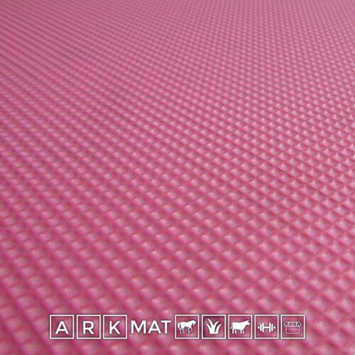 5 x Pink 10mm 6 x 4ft ArkMat Wall Mat for Stables HorsesEVA Matting