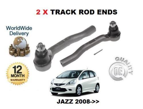 /> new 2 x piste rod fin extérieur set Pour HONDA JAZZ 1.2 1.3 hybrd I 1.4 l13z1 2008