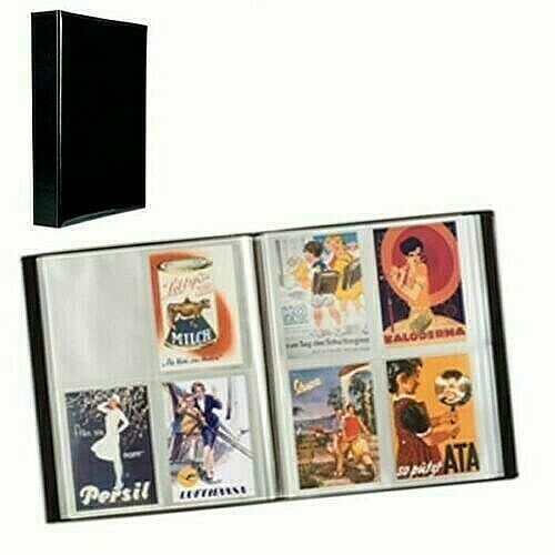 Large Postcard Collection Album 50 Pages 400 Capacity Collector Gift Lighthouse