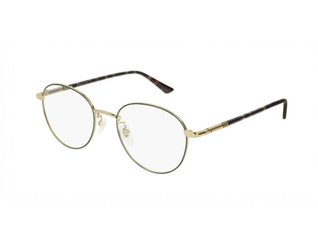 f0d3e381985 Buy Glasses Frames Gucci Metal Green Gg0392o Color Code 004 online ...