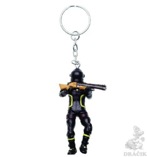 Fortnite mini figurines 7 cm 3d aluminum keyring choose your favorite