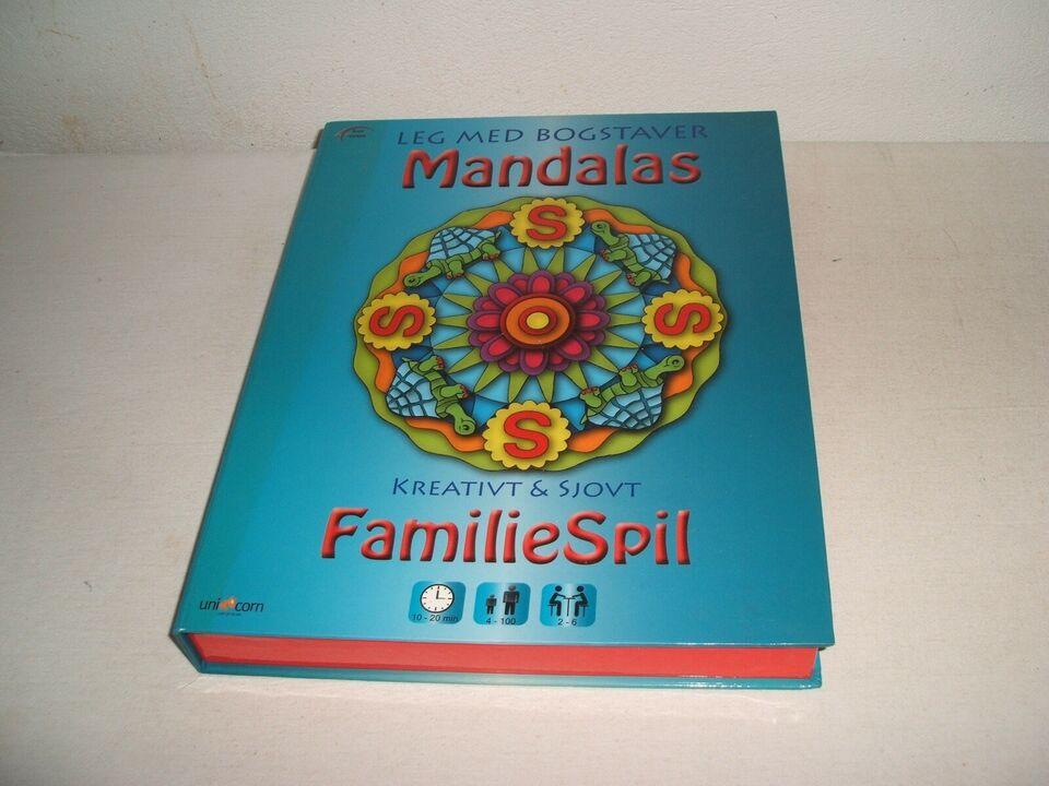 Mandalas, amiliespil, huskespil
