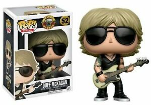 Duff-McKagan-Gun-039-N-039-Roses-Funko-Pop-Vinyl-New-in-Mint-Box-Protector