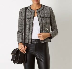 Isabel Marant Étoile frayed tweed jacket Sale Supply Limited New vUPrM0RY