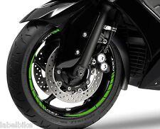 SET TIRAS ADHESIVO compatible para ruedas 14-13 scooter J 300 KAWASAKI J300