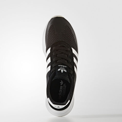 Mujeres Adidas BB5323 Flashback Zapatillas Negro blancoo Zapatillas