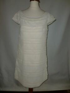 French Connection Ivory Dress Size 8 889624254637 Uk rrOqU