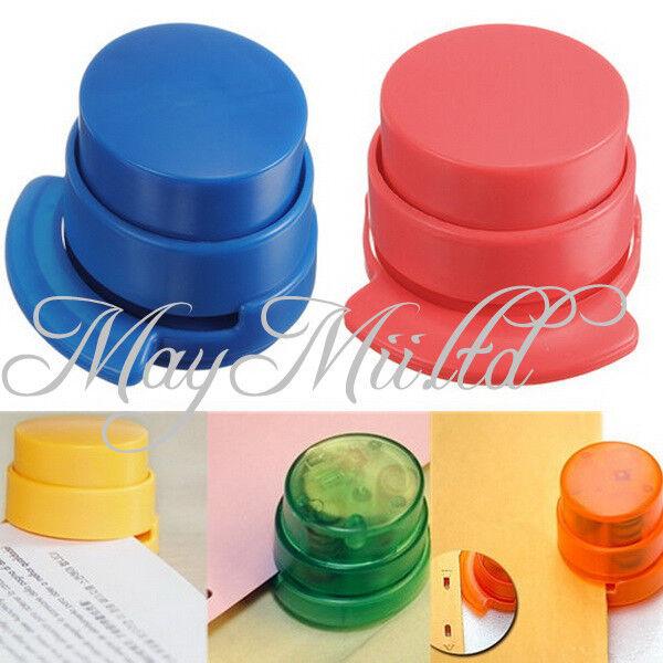Stapleless Staple Free Stapler Paper Binding Binder Stapless Applied Stationery