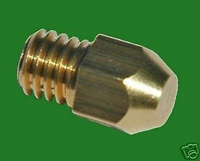 NEW  NO 8  GAS JET 1BA THREAD FOR MOST GAS BURNER APPLICATIONS.