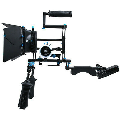 FOTGA DSLR Whole Rig follow focus 15mm rail rod shoulder BP power matte box kit