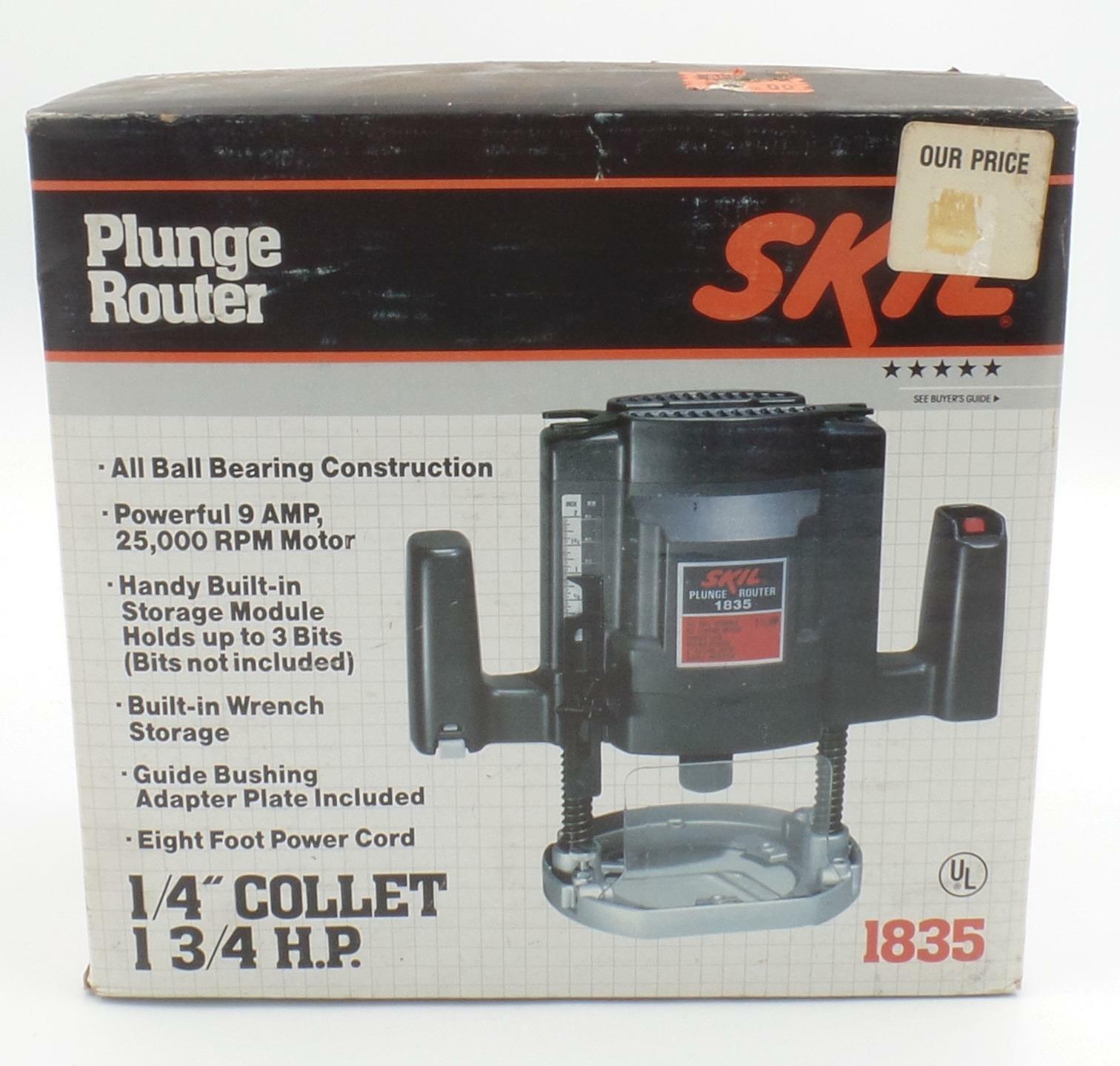 Craftsman 9 5 Amp Plunge Router 1 4 Collet Model 917515 For Sale Online Ebay