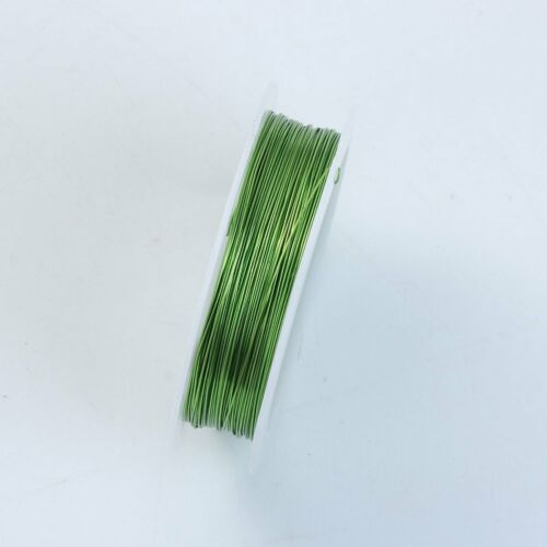 Light Green Color Wire 26 Gauge,Thickness 0.4MM WLG-101-26G