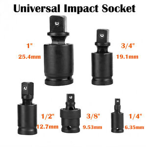 1-034-3-4-034-3-8-034-1-2-034-1-4-034-Drive-Universal-Joint-Swivel-Wobble-Socket-Impact-Adapter
