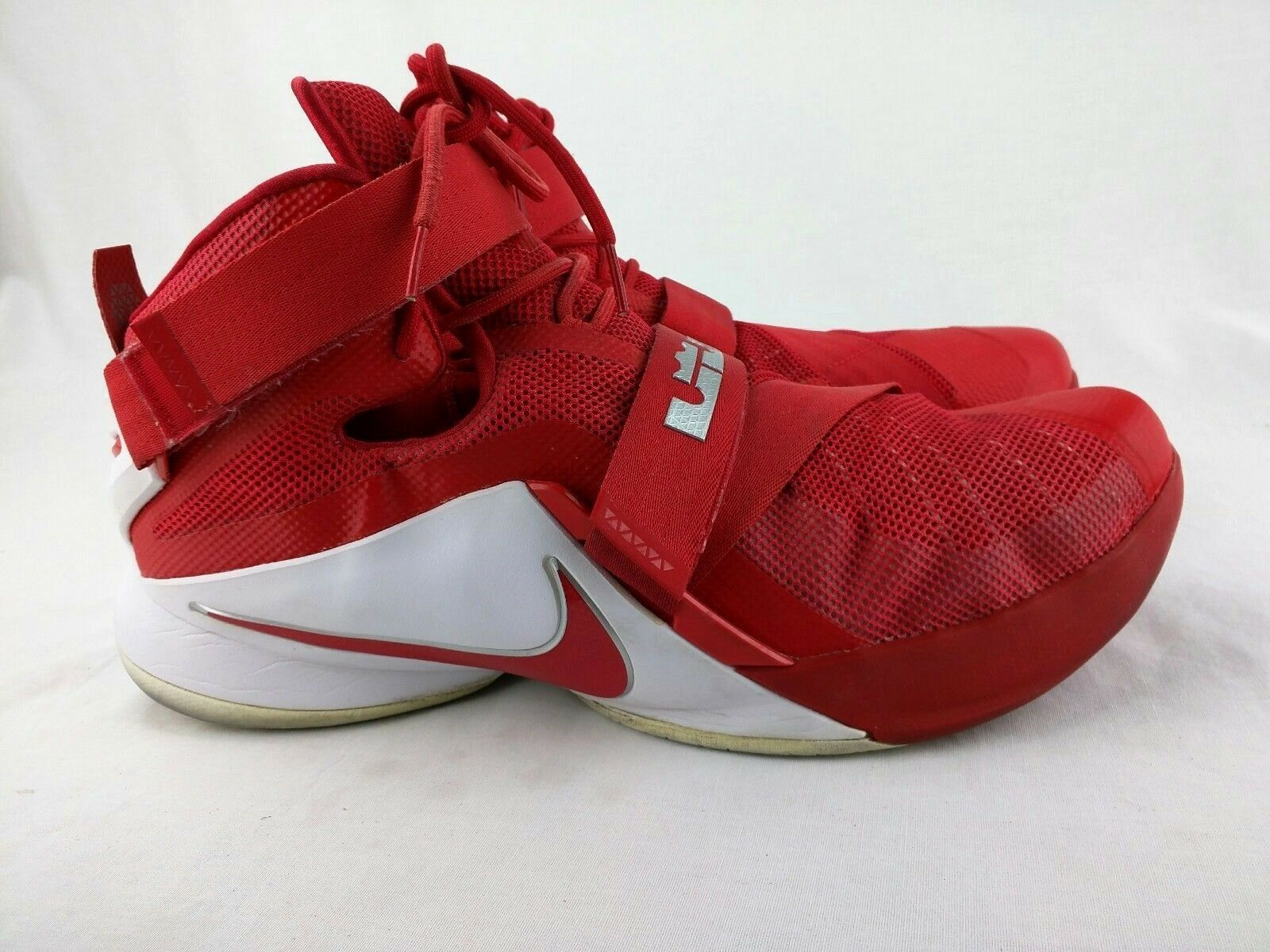Nike Lebron Soldier IX  Basketball shoes Men's Sz 17 Exell.Cond.