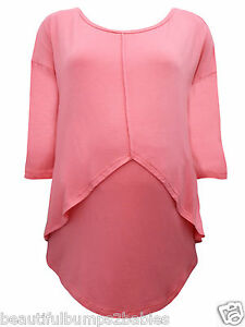 Kleidung & Accessoires Umstandsmode WunderschöNen Dp's Coral Pink Maternity & Nursing Tunic Top Size 8 10 12 14 16 18 20 22 New
