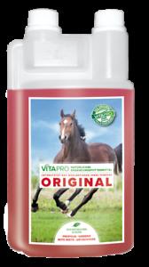 Vita pro natural complemento forraje nervios caballos 2 L + 1 l basenkonzentrat
