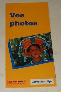 Ancien-depliant-1993-Vos-Photos-Labo-Service-KODAK-et-CARREFOUR