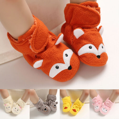 Newborn Baby Shoes Winter Soft Warm Boys Girls Boot First Walker Toddler Boots
