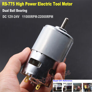 DC-12V-18V-24V-High-Speed-Power-Electric-Drill-Tool-RS-775-Motor-Large-Torque