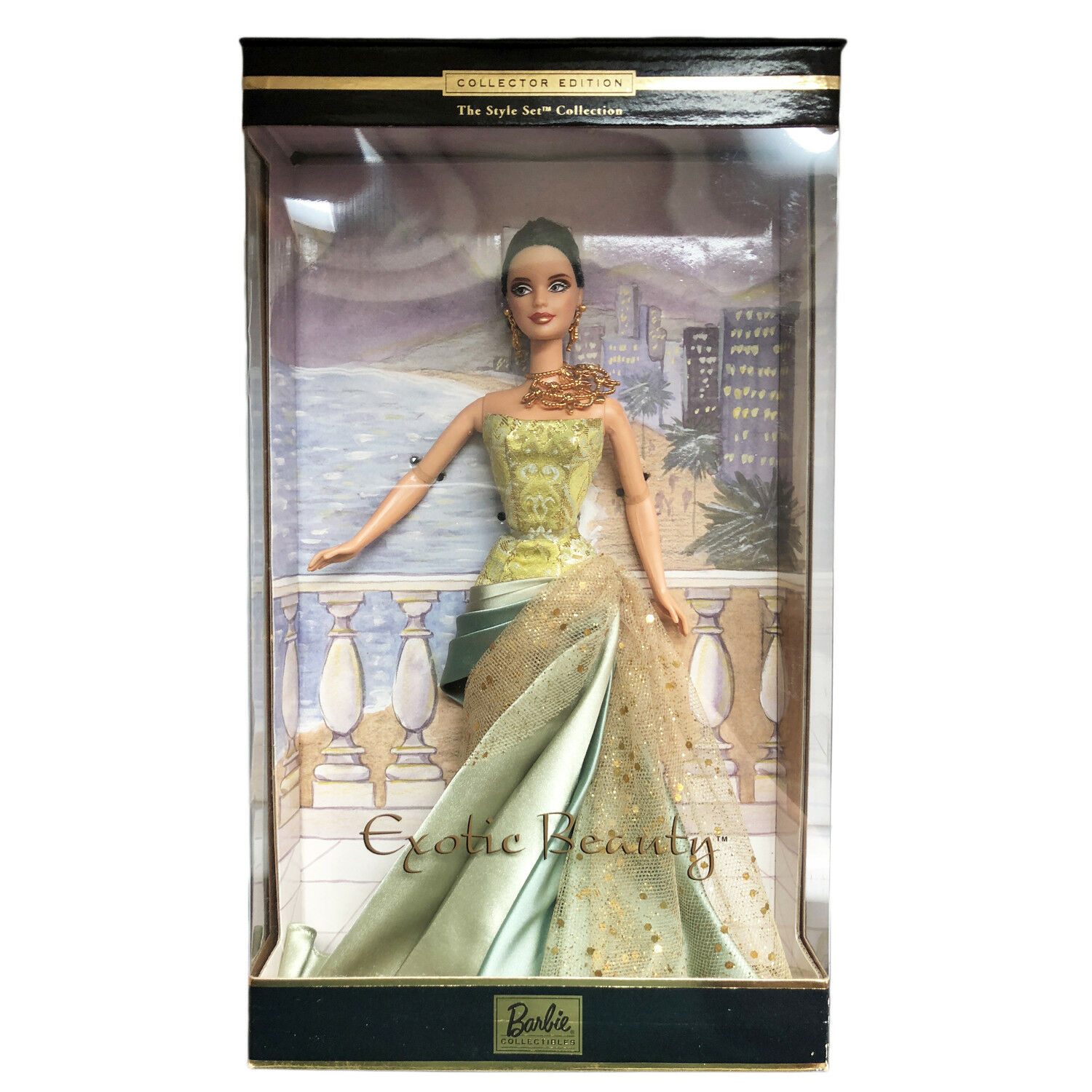 100% Authentic Exotic Beauty Barbie Doll In Box 2002
