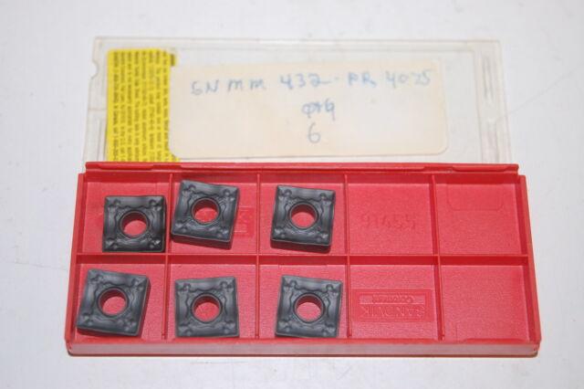 Sandvik Coromant TPG 432 H10A Carbide Inserts TPGN 22 04 08 H10A