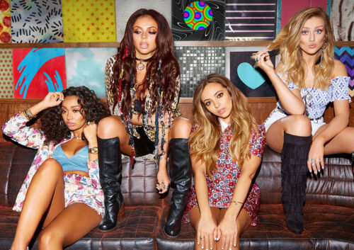 Glory Days 2017 FREE P+P CHOOSE YOUR SIZE! Little Mix Poster Get Weird Salute