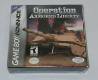 Game Boy Advance Sealed Operation Armored Liberty