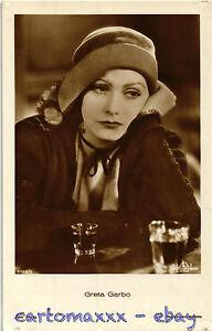 Postcard-Greta-Garbo-Cinema-Attrice-Actress-Movie-Star-GG139