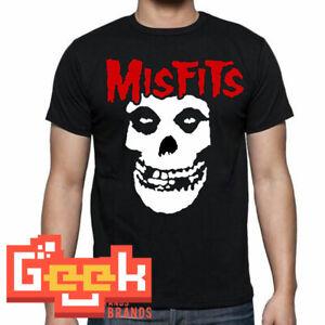 MISFITS-TSHIRT-PUNK-ROCK-MEN-039-s-T-SHIRT-SMALL-5XL-RED-BLACK-LOGO
