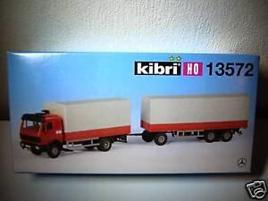 camion-mercedes-13572-KIBRI-pour-train-electrique-HO