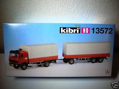camion mercedes 13572 KIBRI pour train electrique HO