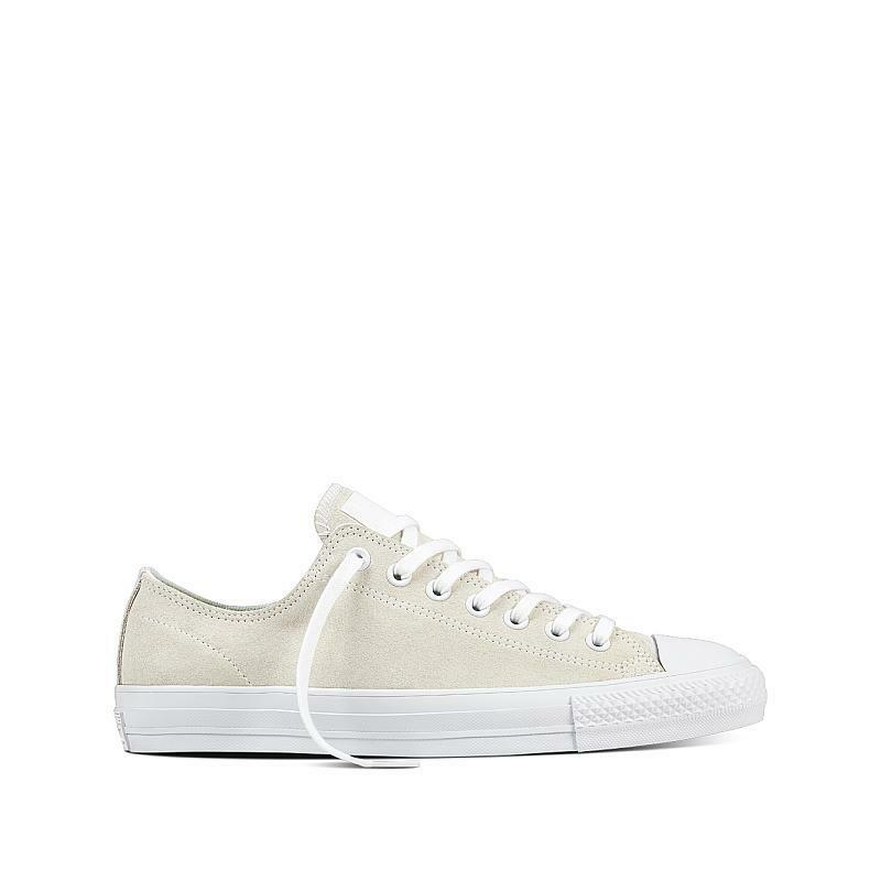 CONVERSE CHUCK TAYLOR ALL STAR CT AS PRO OX Mens 157871C Weiß Suede NEW