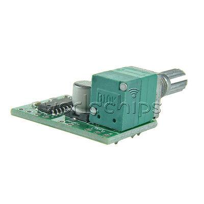 2PCS PAM8403 5V 2Channel USB Power Audio Amplifier Board 3Wx2W Volume Control