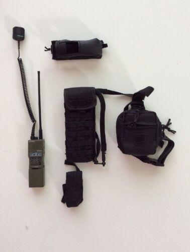 78016 1//6 Dam Toys MSRT Security Response Team Pouch Set #1