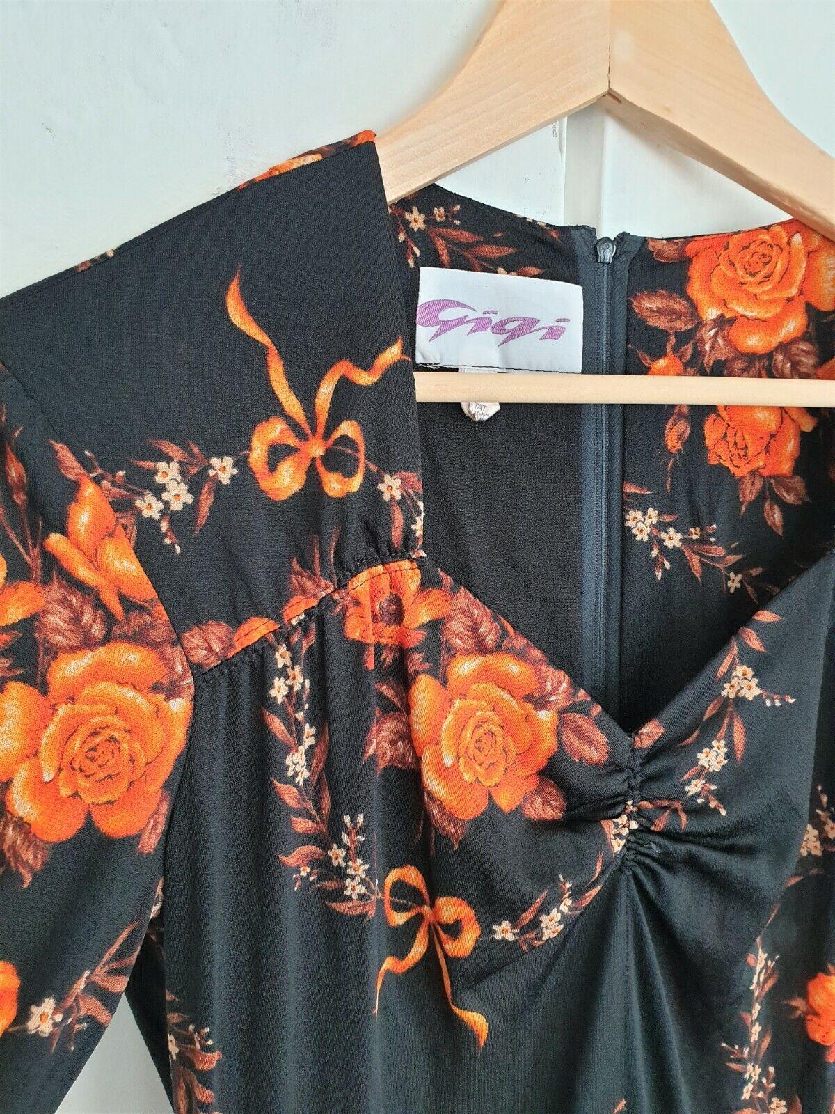 Vintage 70's Maxi Dress By Gigi 36