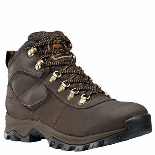 e804cb5d5dc Timberland Men's Mt. Maddsen Mid Waterproof Hiking Boots Dark Brown  TB02730R242