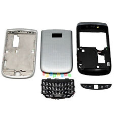 New Full Housing Cover + Frame + Keypad For Blackberry Torch 9810 Silver