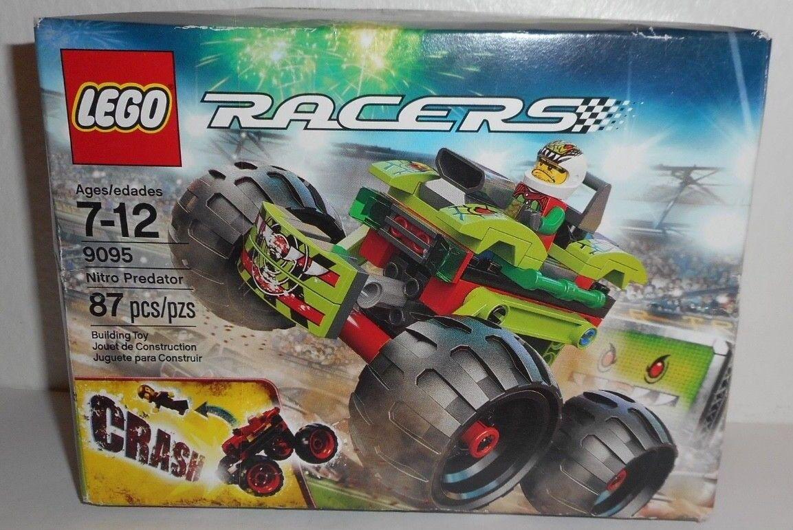 LEGO Racers Nitro Prossoator 9095 Brand Nuovo Sealed  Age 7-12 Building Toy 87 Pcs